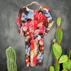 Anthropologie Dresses - 🌵Anthropologie Leifsdottir Silk Gathered Dress 8